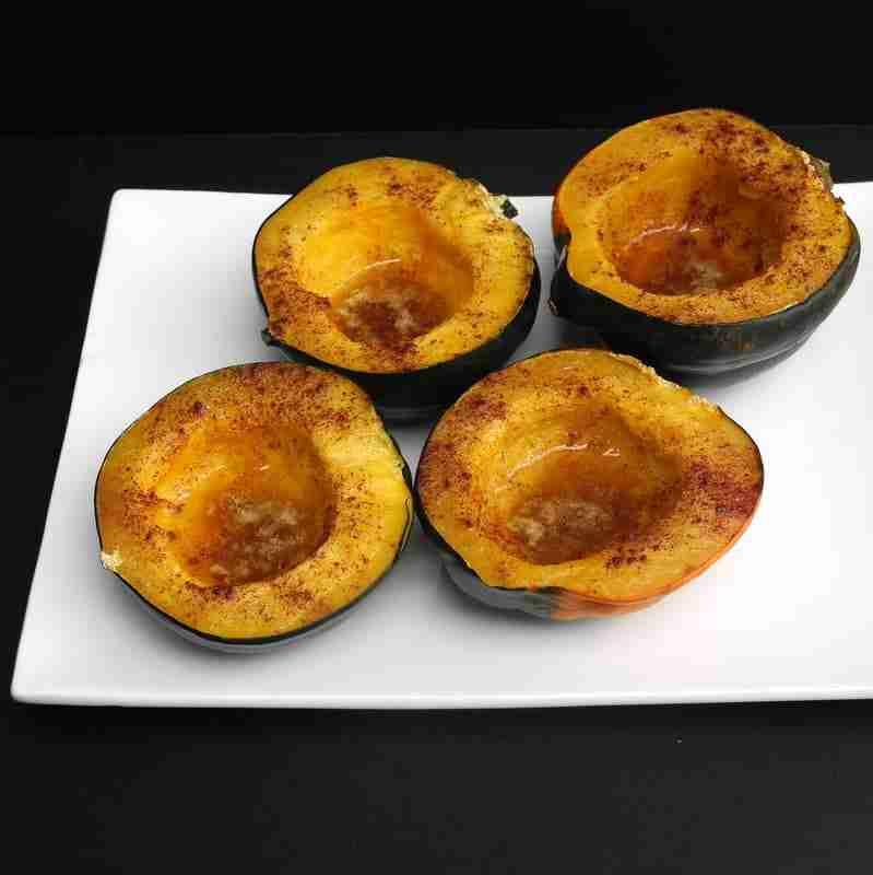 Baked Cinnamon and Brown Sugar Acorn Squash - Daily Dish Magazine