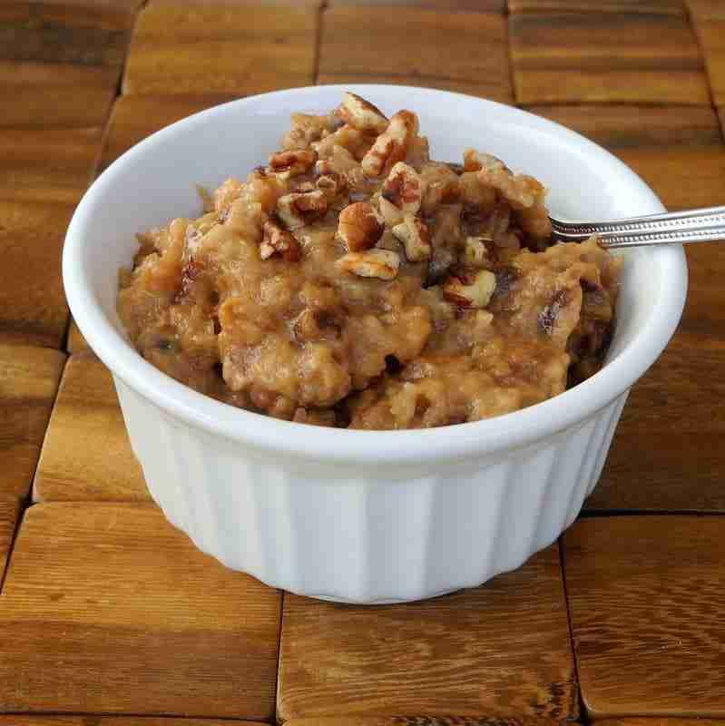 Pecan Pie Oatmeal