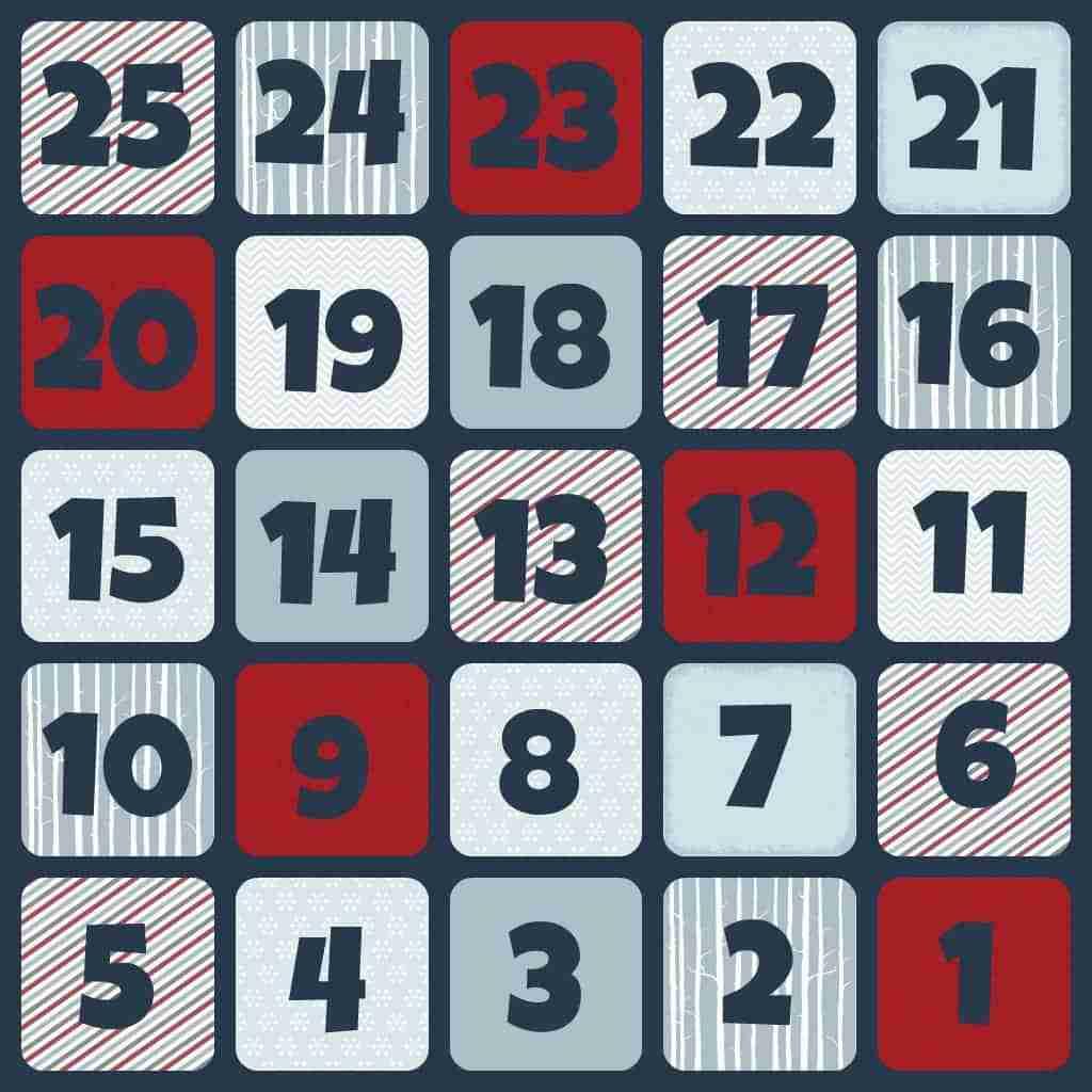 countdown to christmas craft santa beard countdown to christmas craft