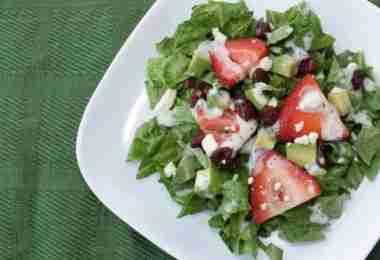 Strawberry Poppyseed Salad Via Vegetarian Casserole Queen