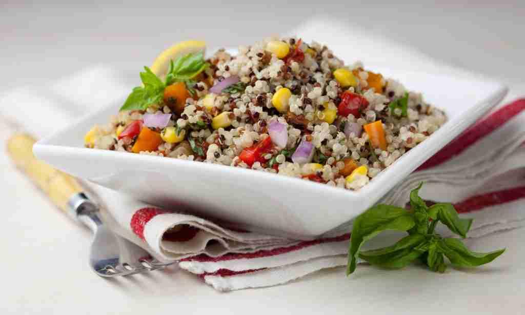 Rainbow Summer Quinoa Salad