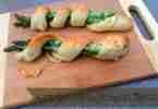 Asparagus Garlic Parmesan Twists