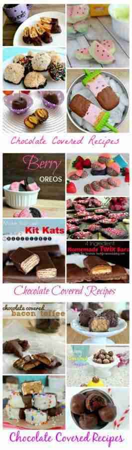 15 Chocolate Covered Recipes for Valentines Day