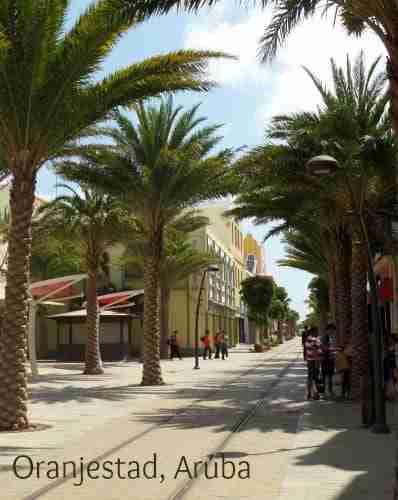 Oranjestad Aruba City Center