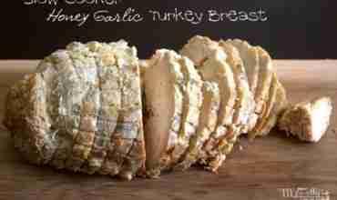 Slow Cooker Honey Garlic Turkey Breast/ Daily Dish Magazine #slowcookerrecipe #turkey