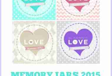 Love Memory Jars Promo