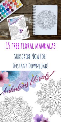 Free Floral Mandalas