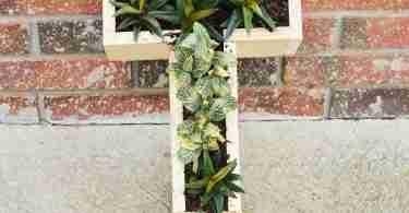 monogram succulent planter