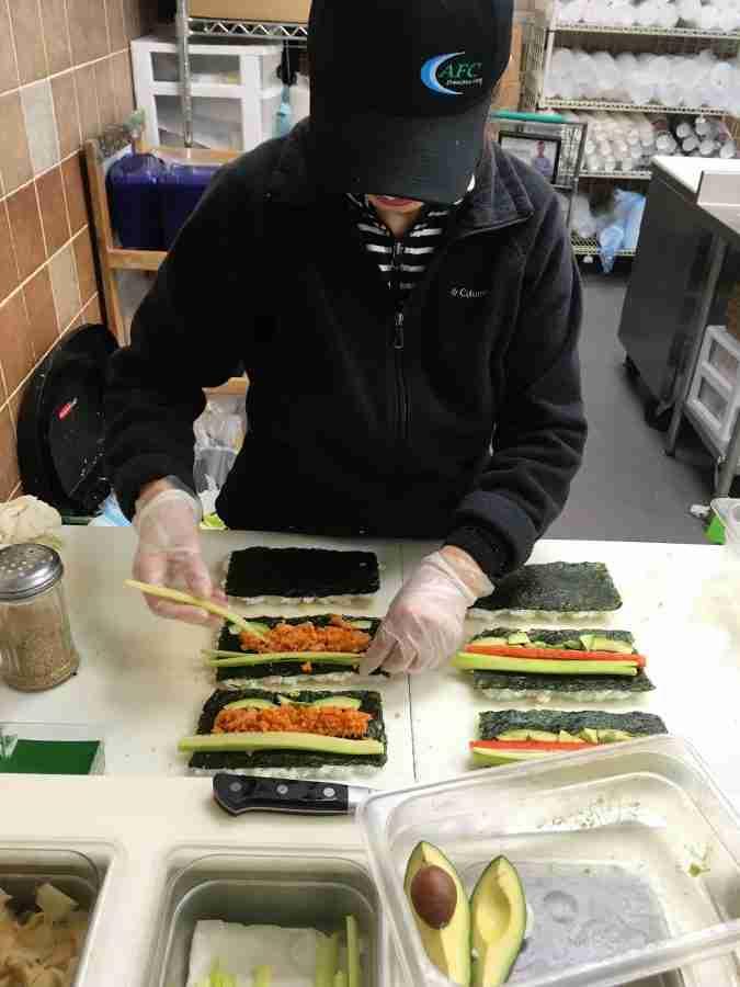 Fresh Made Sushi at Fred Meyer