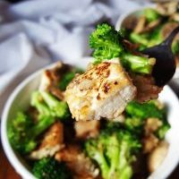 Vegetarian Broccoli Tofu Bowl | Meatless Monday | Daily Dish Recipe