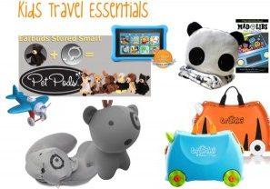 Kids Travel Essentials - Gift Guide