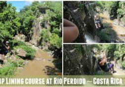 Zip Line Course at Rio Perdido Costa Rica