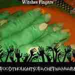 Halloween Treats ~ Witch Finger Cookies