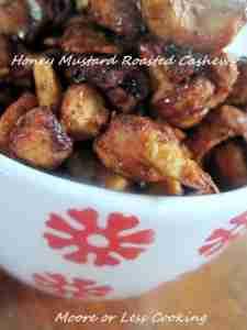 Honey Mustard Cashews