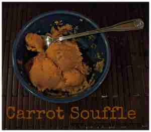 Carrot Souffle Recipe