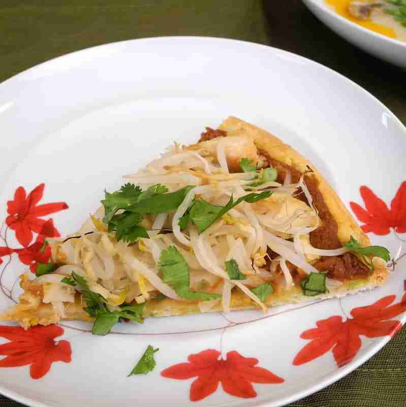 Thai Turkey Pizza