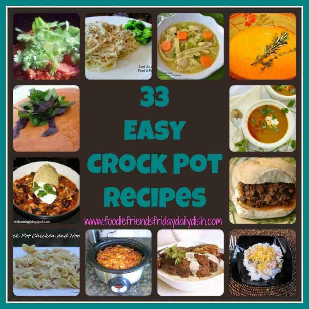 33 Crock Pot Recipes