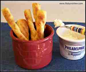Homemade Bread Sticks made with Artisan Bread Dough