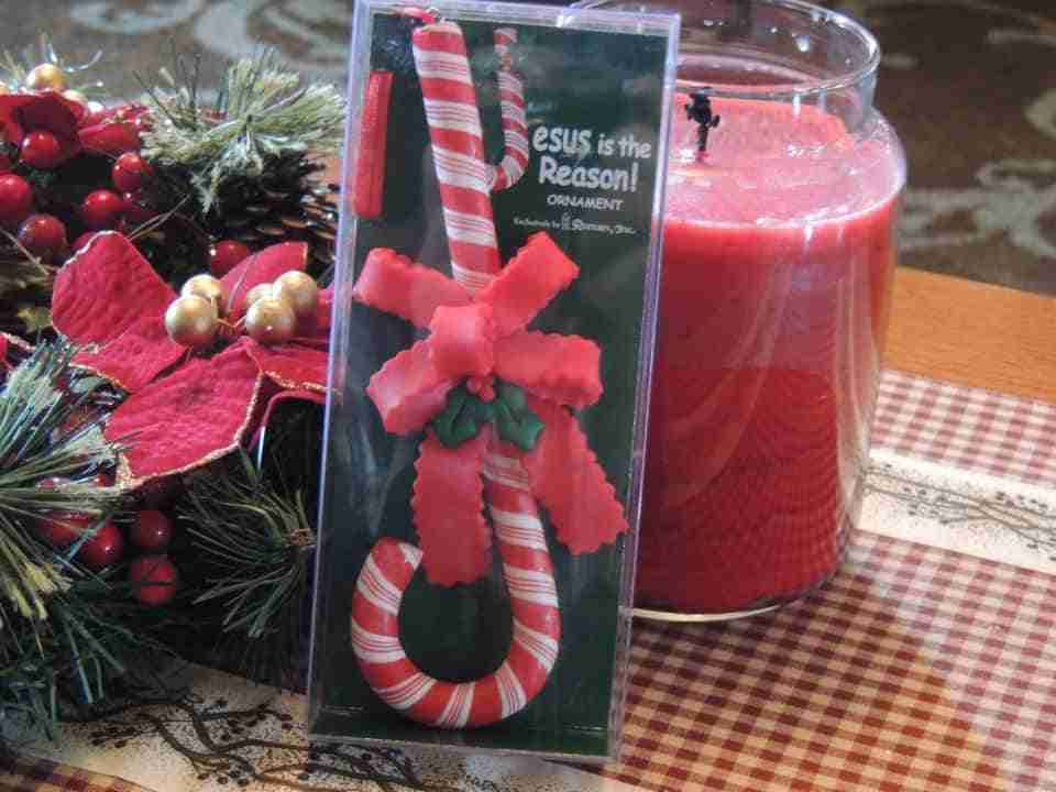 Candy Cane Ornament Giveaway