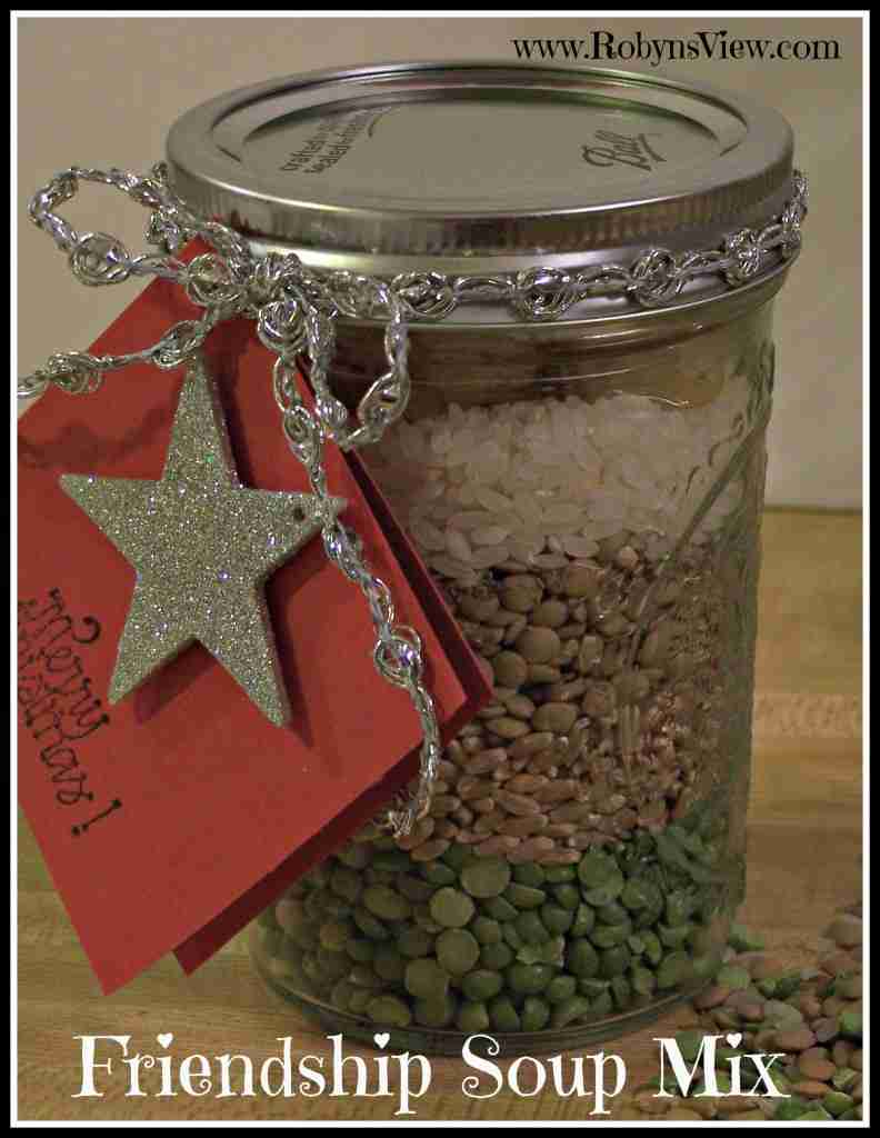 Gifts in a Jar: Friendship Soup Mix