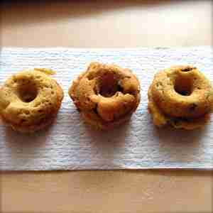 Banana Bread Baked Donuts