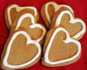 Pepparkakor ~ cookies eaten on Saint Lucia Day