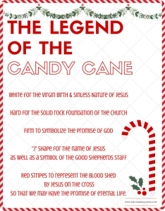 Legend of the Candy Cane New Promo | Daily Dish Magazine | Recipes ...