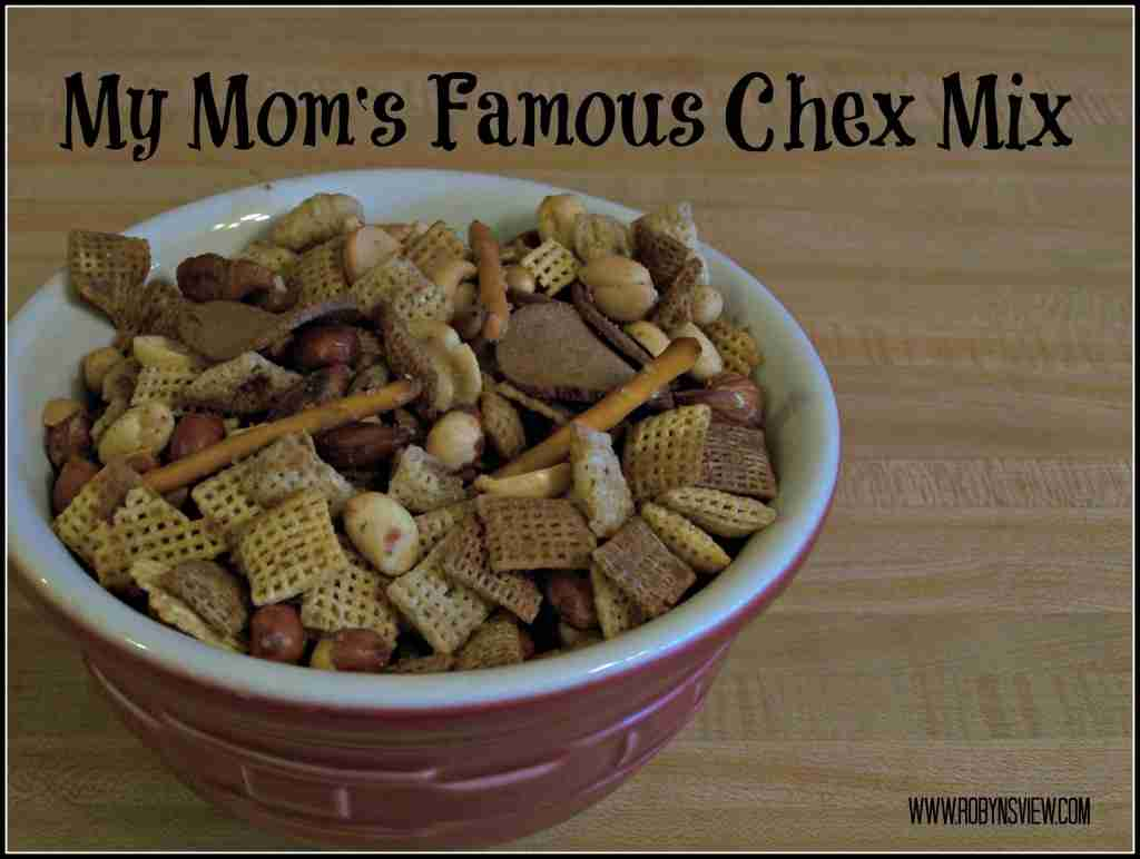 My Mom's Famous Chex Mix Recipe