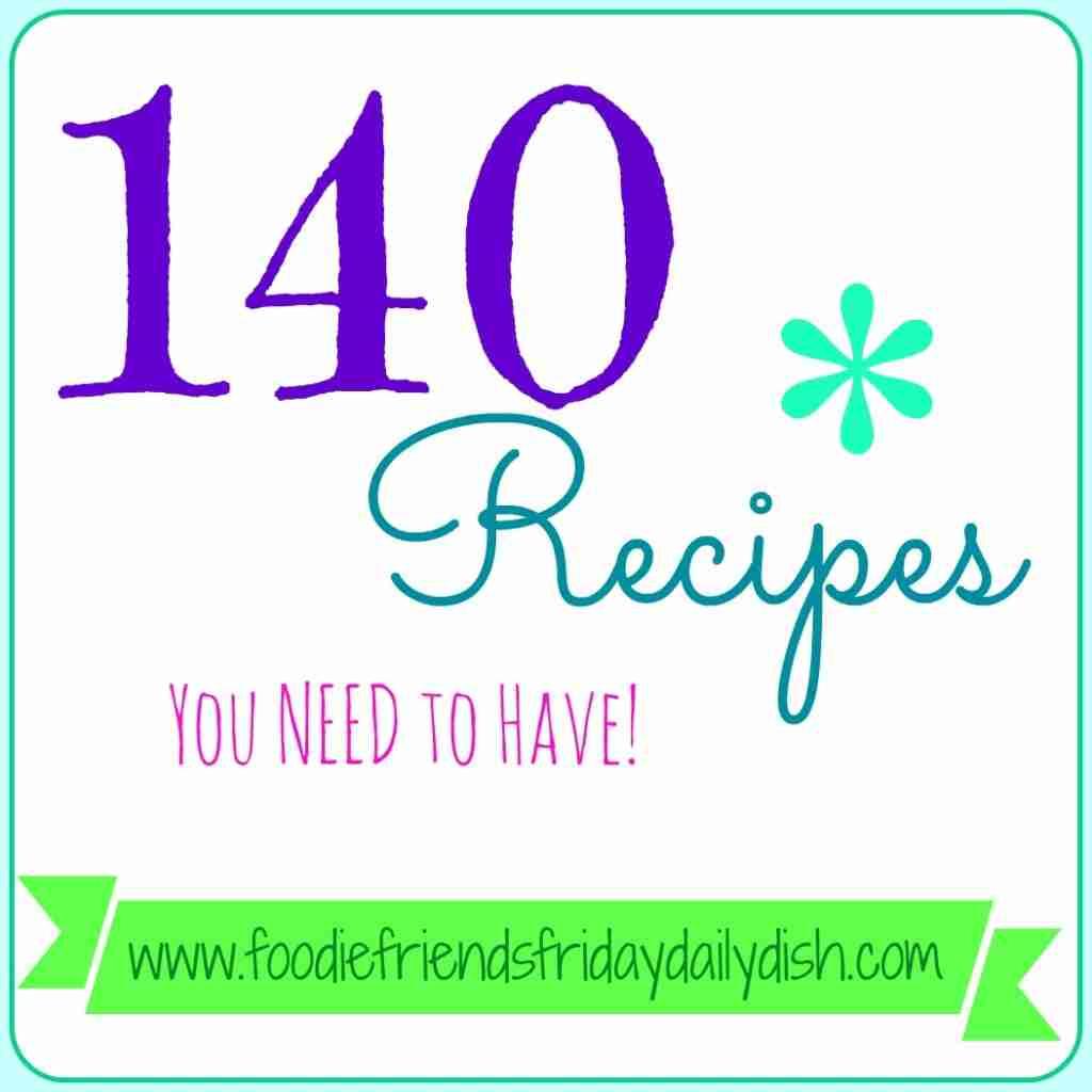 140 recipes, recipes