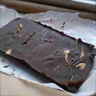 Healthy Chocolate Peanut Butter Fudge