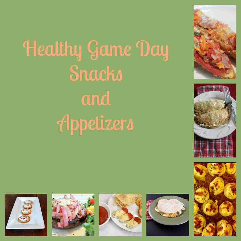 Healthy Game Day Snacks and Appetizers