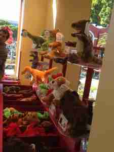 Select an animal at Build a Bear