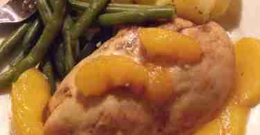 peachy chicken breasts