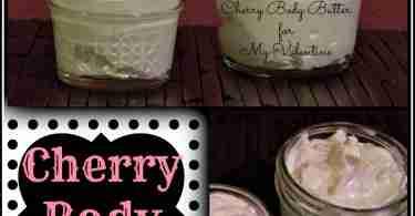 Cherry Body Butter Recipe