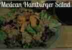 Mexican Hamburger Salad