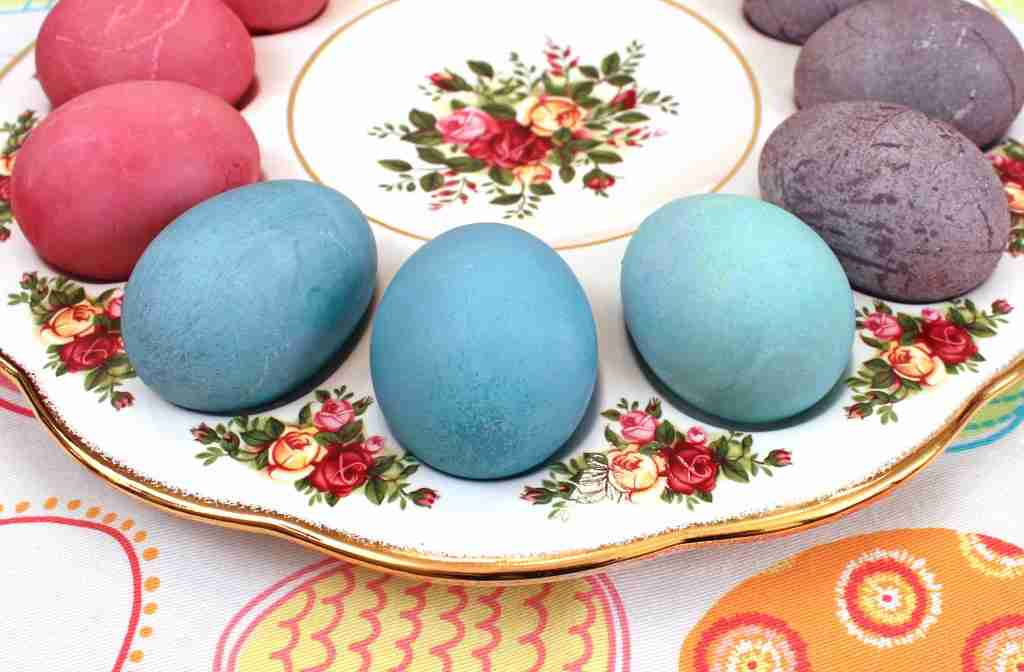 Blue Easter Eggs