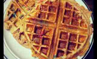 Whole Wheat Greek Yogurt Waffles