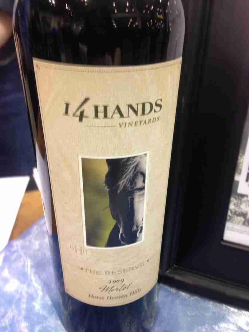 taste washington, 14 hands, wine