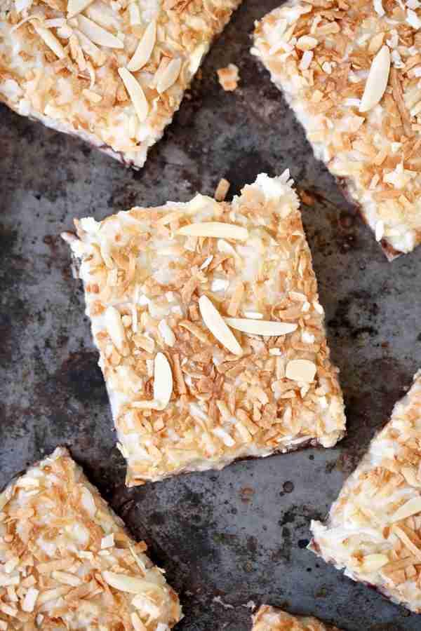 Healthier Almond Joy Squares