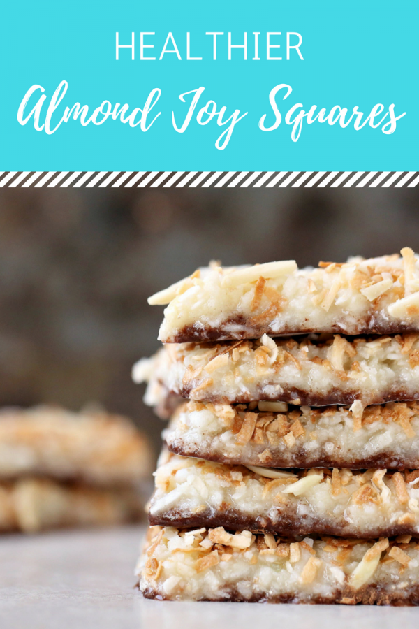 Healthier Almond Joy Fudge Bars | Easy Coconut Oil Recipe