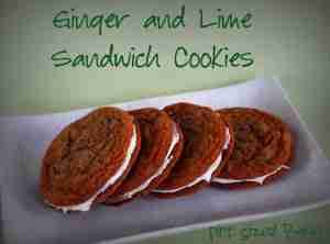 ginger and lime cookies