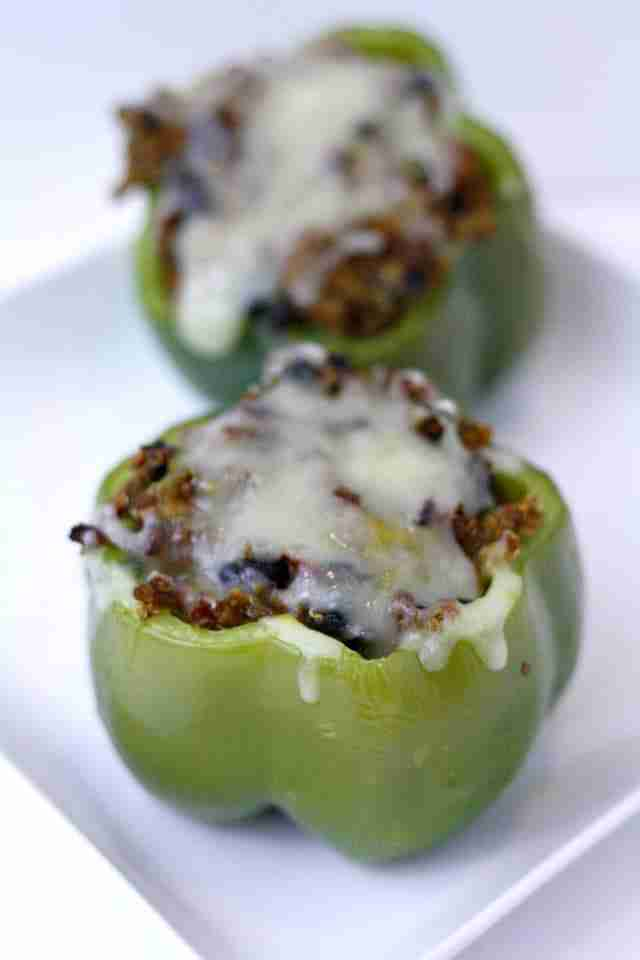 Low Sugar Living: Mexican Stuffed Bell Peppers