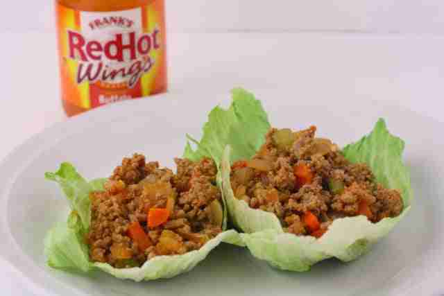 Low Sugar Living: Buffalo Style Lettuce Wraps