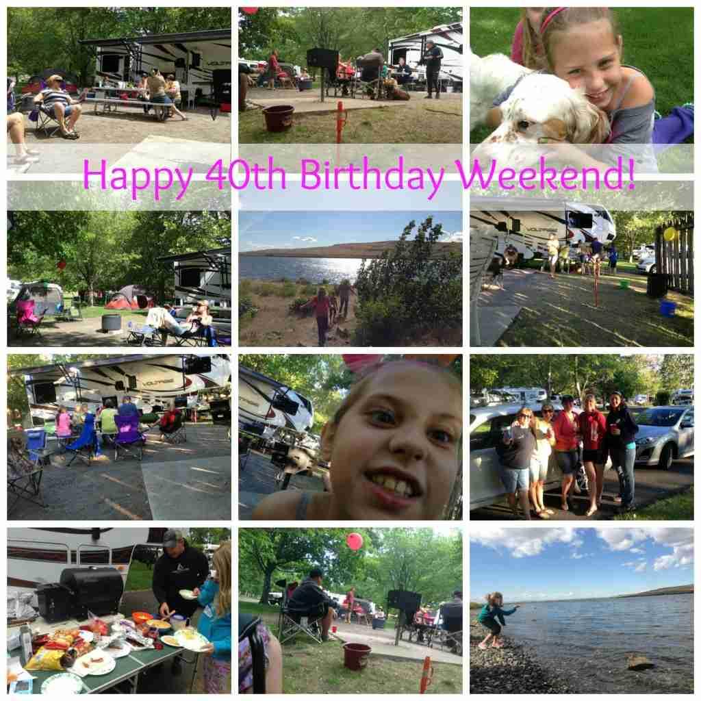angela birthday collage