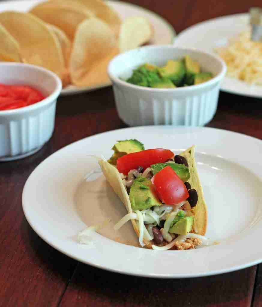 Budget Meals:  Less Expensive Taco Night