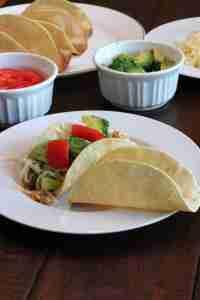 budget tacos - shells