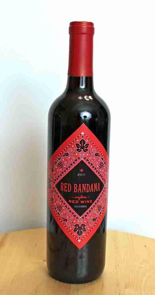 Red Bandana Anytime Red Wine