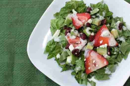 Strawberry Poppyseed Salad Via Vegetarian Casserole Queen
