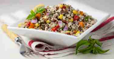 Rainbow Summer Quinoa Salad