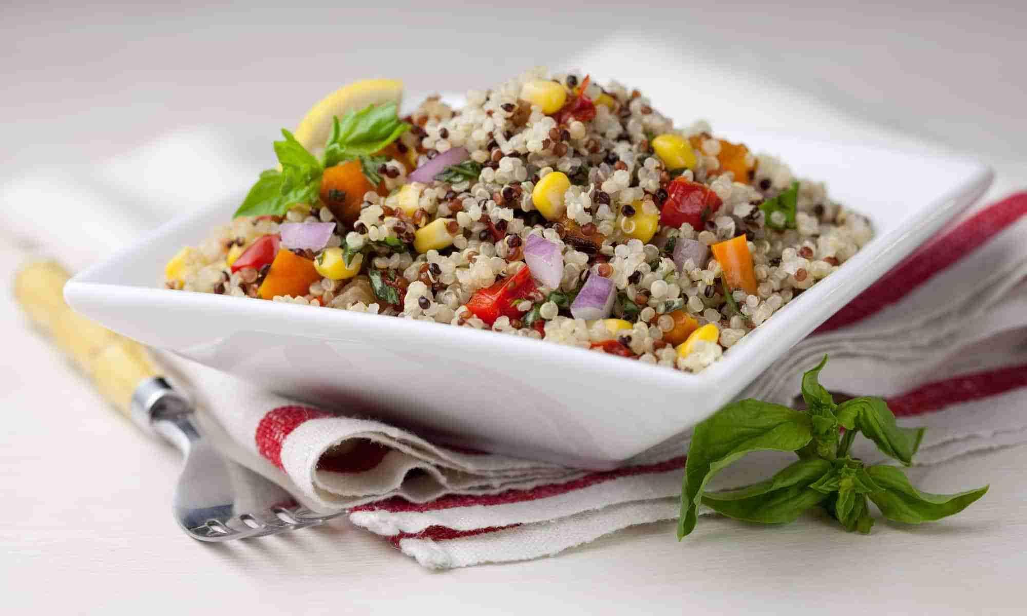 Rainbow Summer Quinoa Salad | Daily Dish Magazine | Recipes | Travel ...